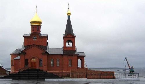 Dudinka-church