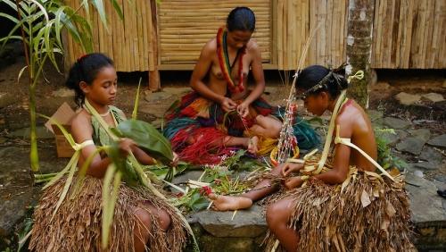 Island of Yap in Micronesia