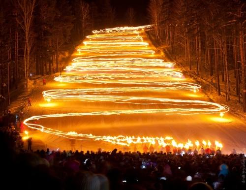 Zheleznogorsk-torch-festival